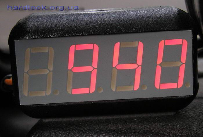 Тахометр автомобильный своими руками цифровой