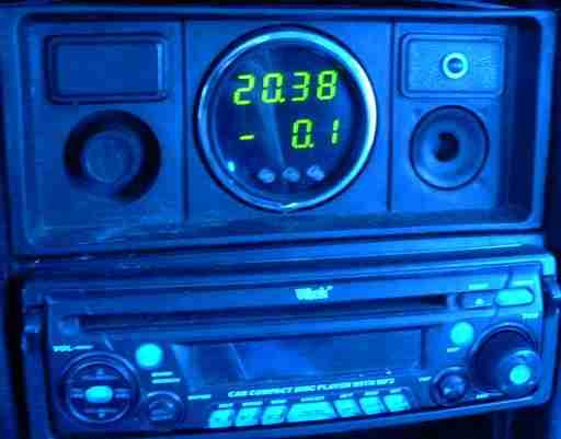 Часы схема с термометром.