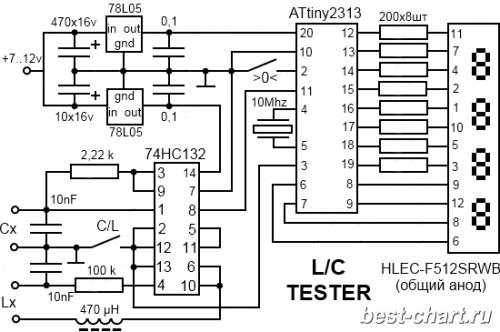 Esr метр своими руками на микроконтроллере