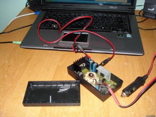 Автомобильная зарядка для ноутбука lenovo своими руками