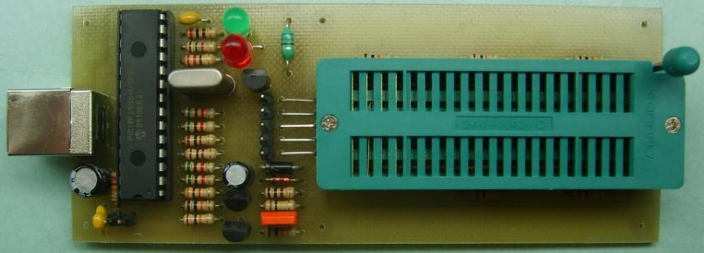 PICkit-2 lite — Студенческий USB программатор PIC микроконтроллеров