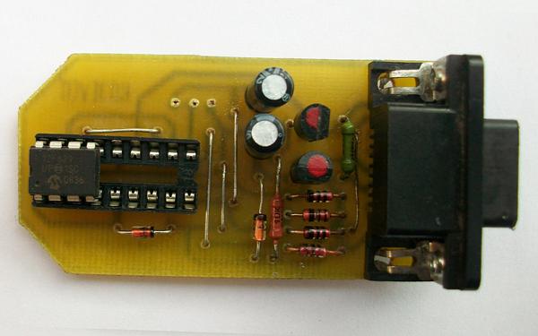 версия PCB адаптера JDM.