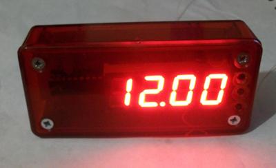 Часы-термометр LED с радиодатчиком