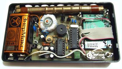Счетчик Гейгера на микроконтроллере PIC 16F84