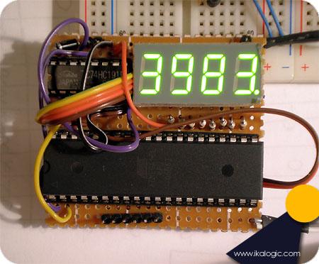 Простой частотомер до 40 МГц на микроконтроллере ATmega16