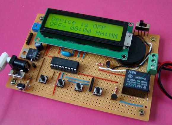 Программируемый таймер на PIC16F628A