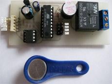 Контроллер на электронных ключах DS1990A