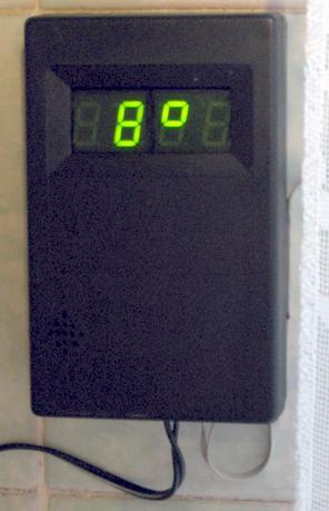 Часы-термометр-секундомер на PIC16F628A