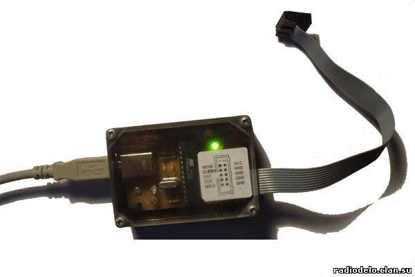 Программатор AVR910 с USB интерфейсом