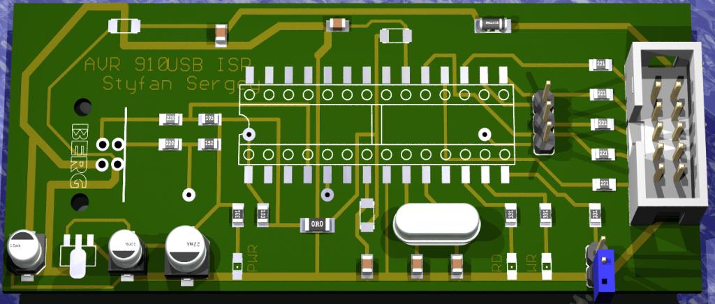 USB программатор AVR микроконтроллеров