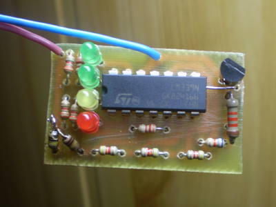 Индикатор разряда батареи 6в(12в)