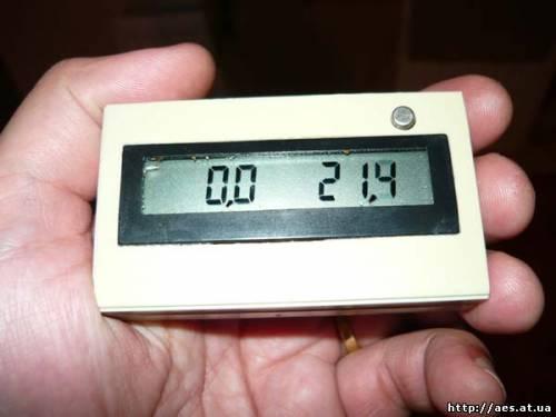 Еще один домашний термометр. (2 канала, точность 0.1 градус, PIC12F629)