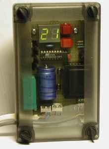 Регулятор температуры на AT90S2313 и DS1621