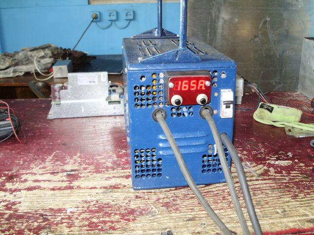 Сварочный инвертор — асимметричный (косой мост)  с микроконтроллерным управлением